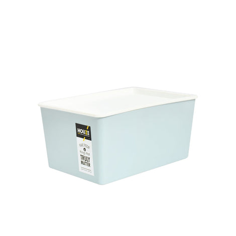 Storage Basket - Houze 5L Linear Box With Lid (Blue)