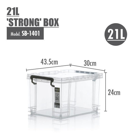 Storage Boxes - Houze 21L 'STRONG' Box