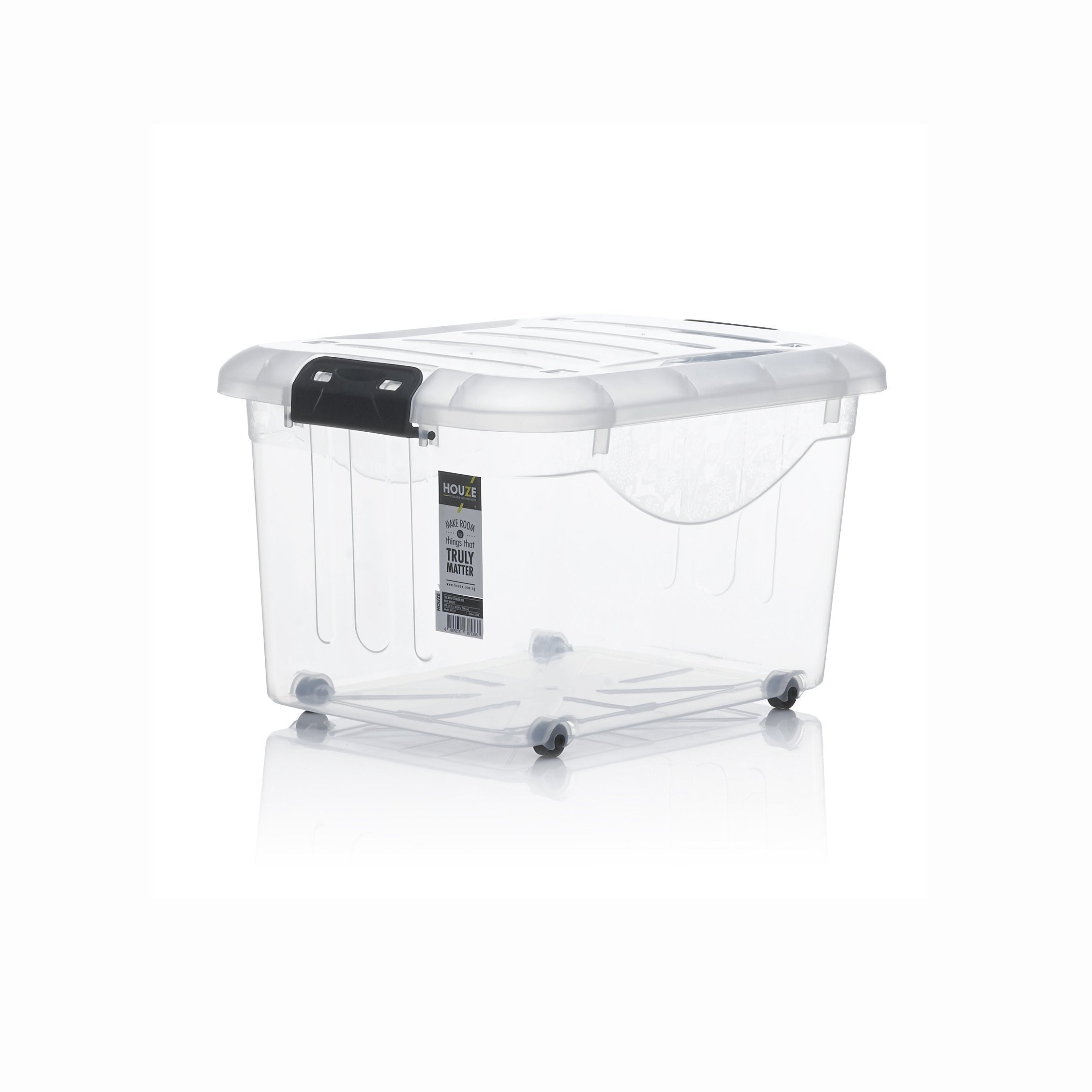 HOUZE 30L Motif Storage Box with Wheels - HOUZE - The Homeware Superstore