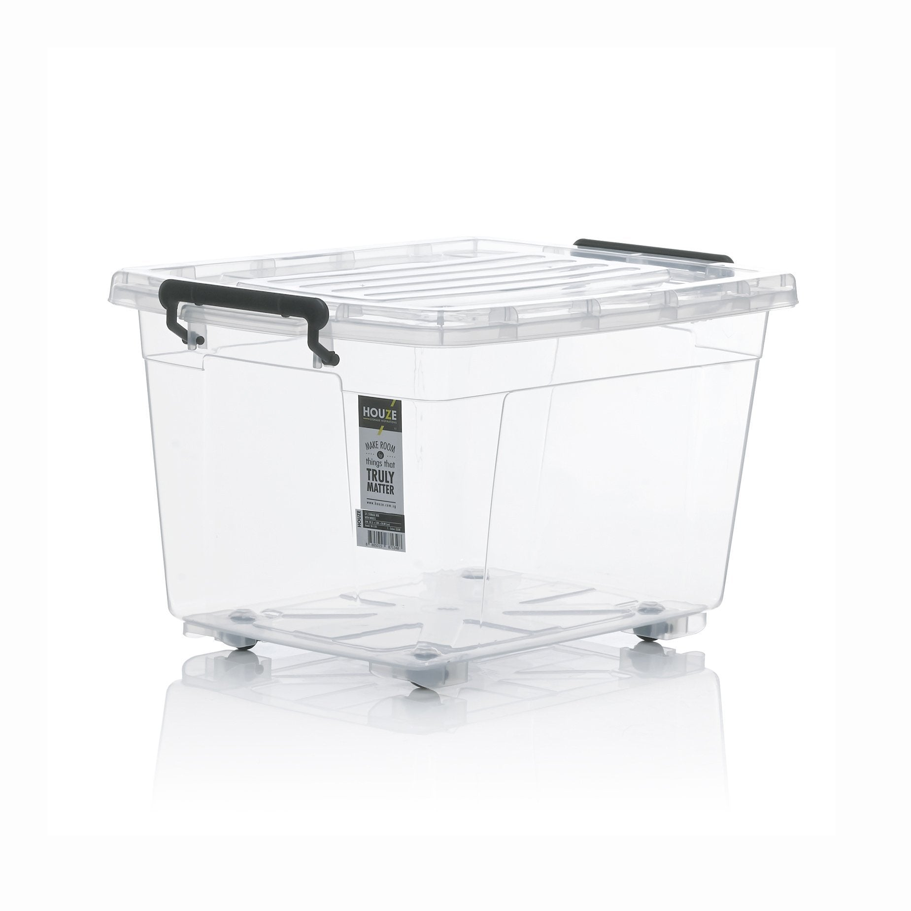 HOUZE 77L Storage Box with Wheels - HOUZE - The Homeware Superstore