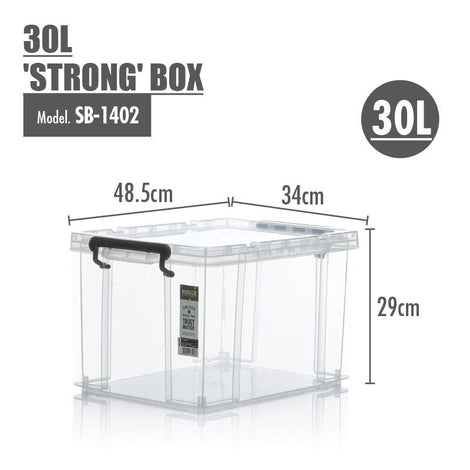 Storage Boxes - [Set Of 3] Houze 30L 'STRONG' Box
