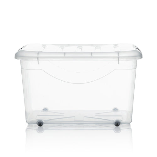 [SET OF 3] HOUZE 60L Motif Storage Box with Wheels - HOUZE - The Homeware Superstore