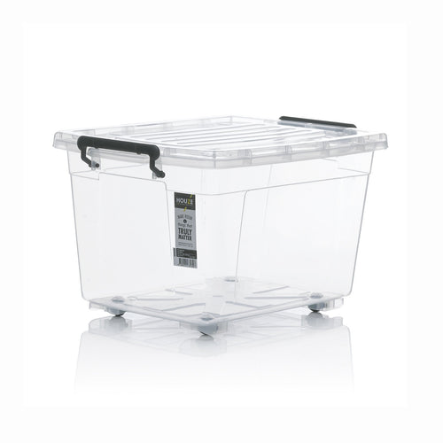 [SET OF 3] HOUZE 77L Storage Box with Wheels - HOUZE - The Homeware Superstore