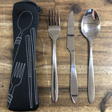 Red Roads Cutlery Pack - Knife-Fork-Spoon