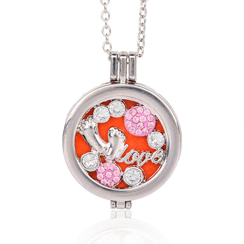 Fragranced Pendant Necklace (Baby Love)