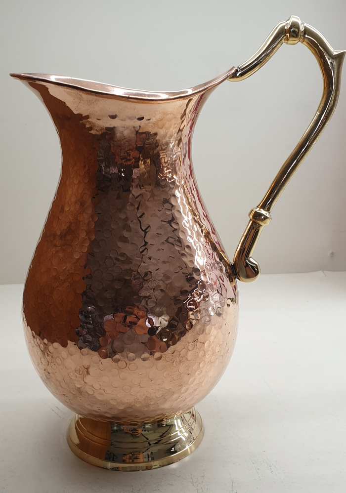 Copper Mughlai Water Jug