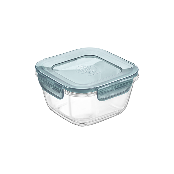 FRIGOVERRE EVOLUTION GLASS FOOD STORAGE BOX 14 X 14 SQUARE
