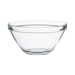 POMPEI GLASS SALAD BOWL 170 cl - 57 1/2 oz