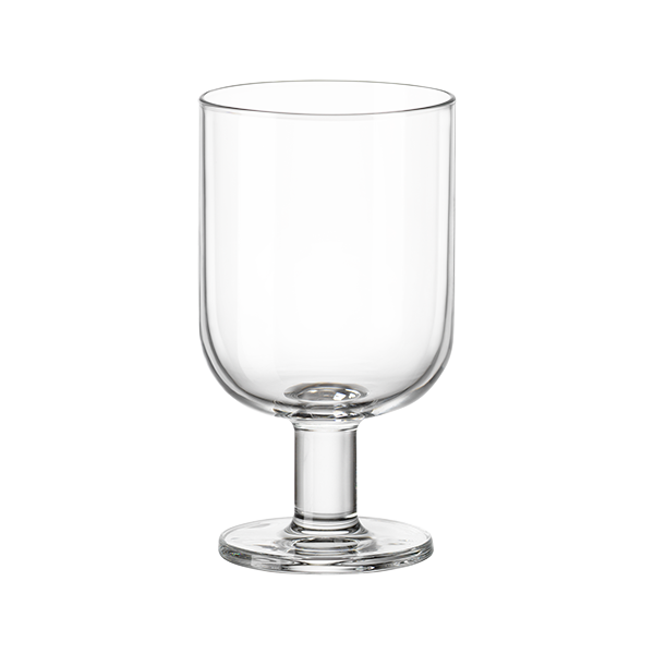 Hosteria Glass Water Goblet