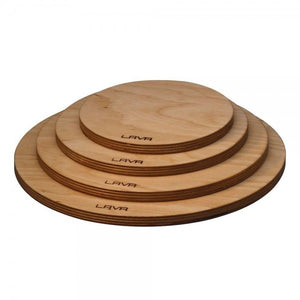 WOODEN PLATTER WITH MAGNETIC FEATURE - DIA.24 CM