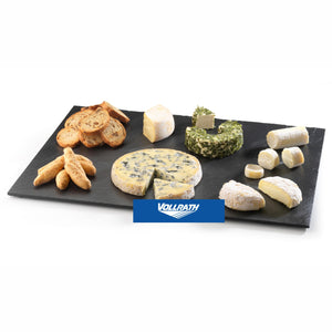OBLONG SLATE SERVING TRAY 40 X 30CM