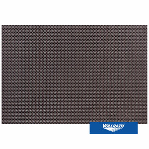 PLACE MAT WIDE BAND - BROWN & BLACK - 45 X 30 CM