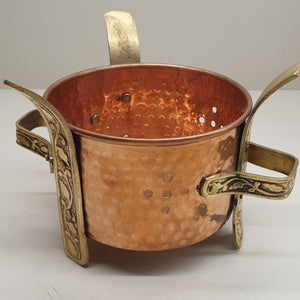 Copper Sigdi (Food Warmer) Medium