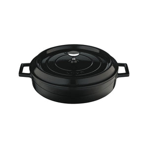 MULTI-PURPOSE CASSEROLE - DIA.24 CM - BLACK