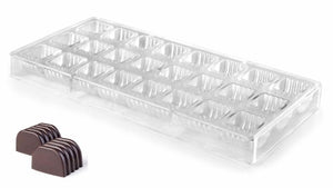 CHOCOLATE MOULD LINEAR - DIA 25.5 X 24.5 MM / H 17 MM