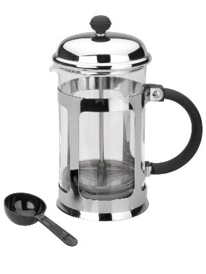 COFFEE PRESS WITH GLASS 0.35 LTR