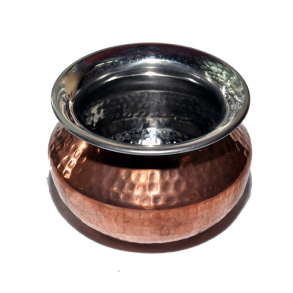 Copper Punjabi Handi (Pot)  Mini