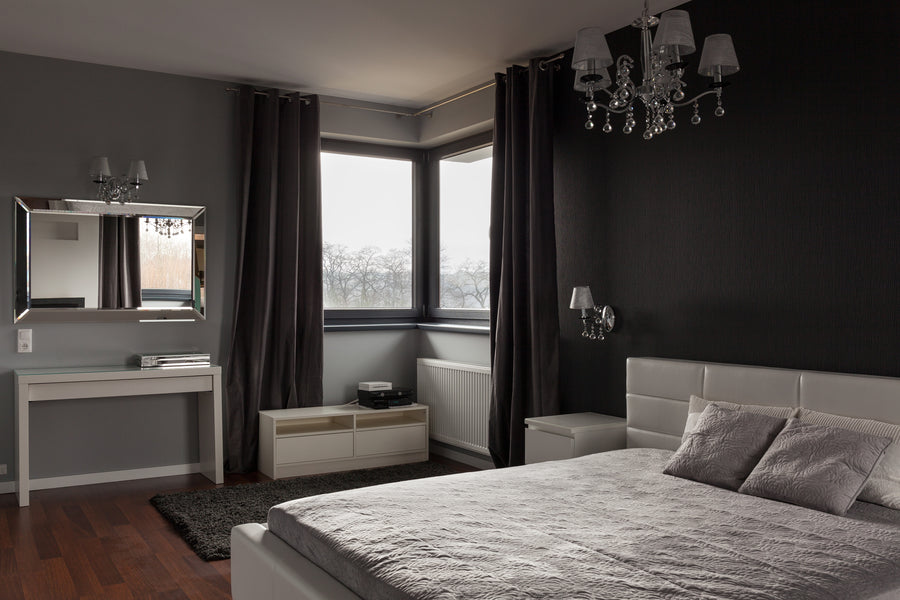 Decorating with Dark Colours