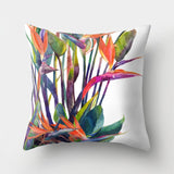 Tropical Leaf Cactus Monstera Cushion Cover