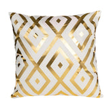 Golden Polyester Cushion Cases