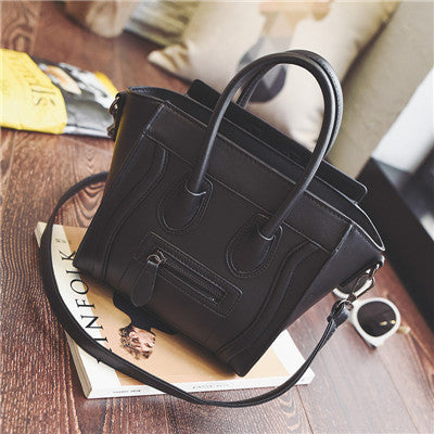 Smiley Tote Bag Luxury Brand Leather Women Handbag Shoulder Bag Famous  Crossbody Bags - Be Your ebc26ffaa92c5