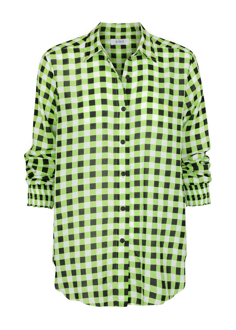 Checkmate Lime Shirt | Checkmate Skrit