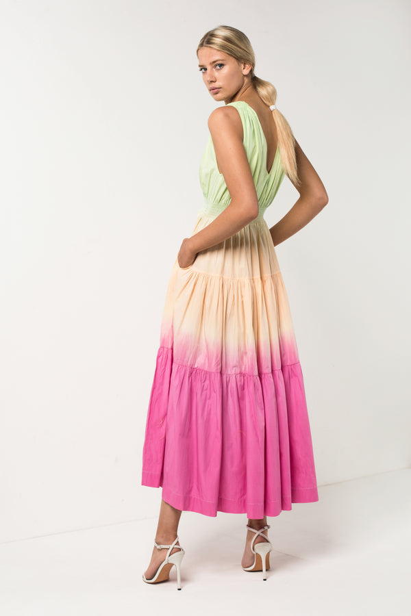 Sunset Tiered Maxi