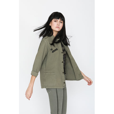 The Workshirt in Olive Drab