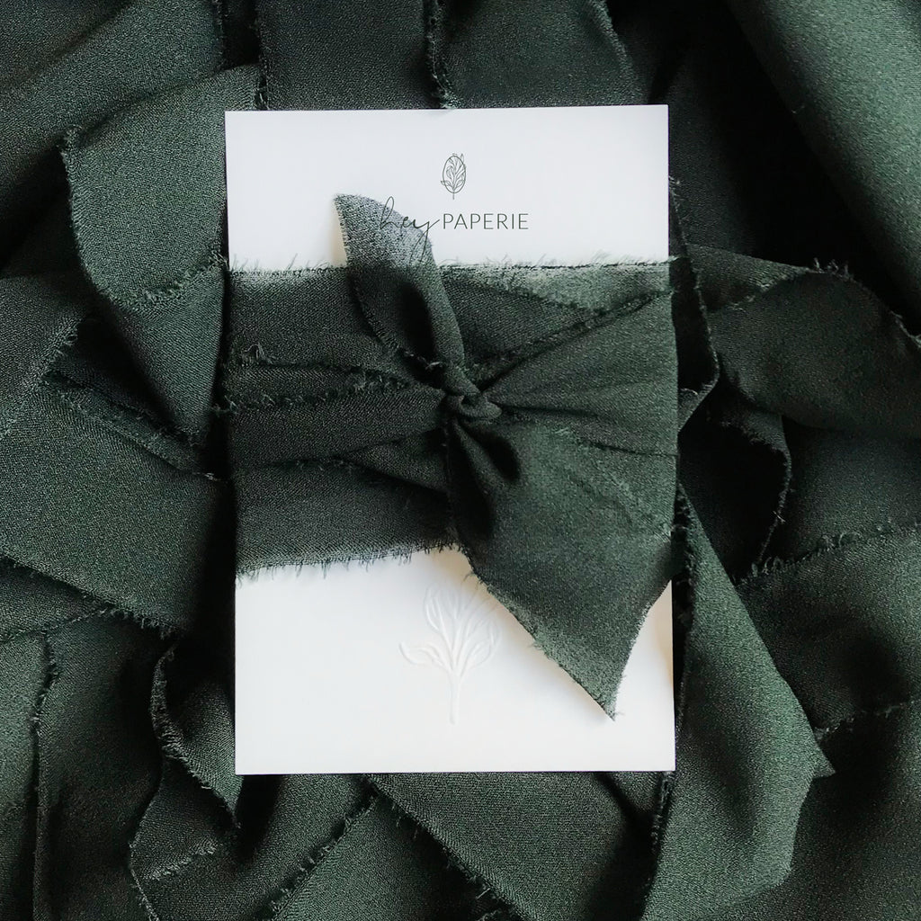 Chiffon, Midnight Green