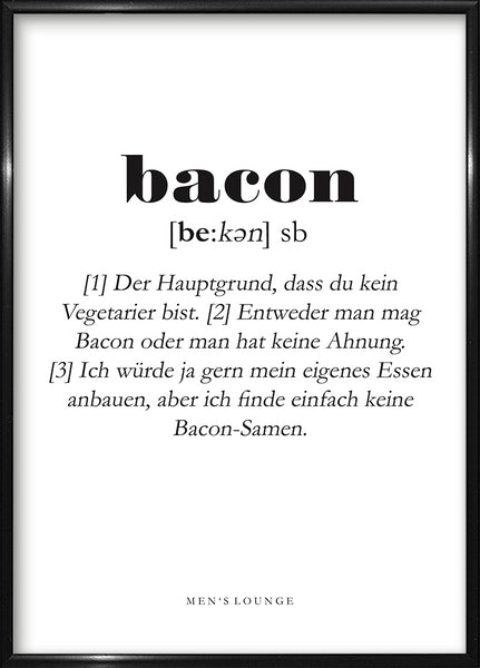 Bacon Definition DE