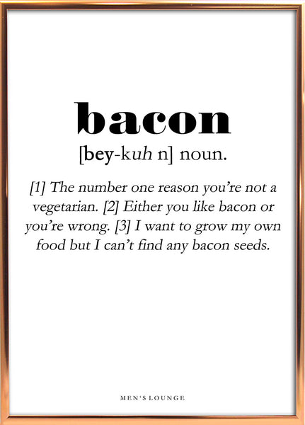 Bacon Definition