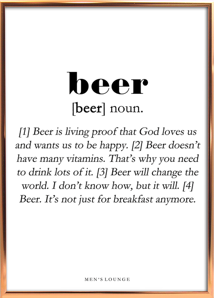 Beer Definition