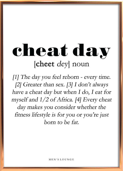 Cheat day Definition