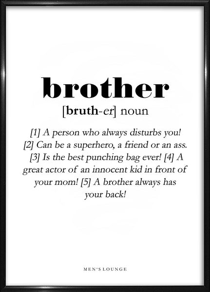Brother Definition