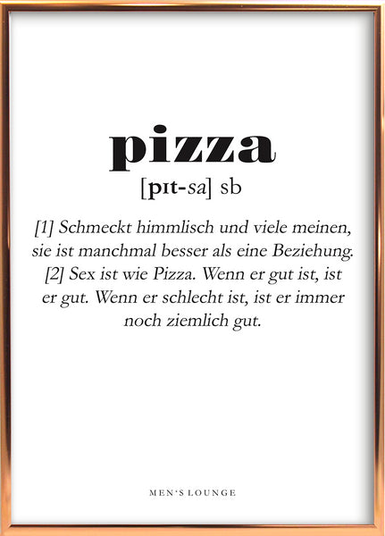 Pizza Definition DE