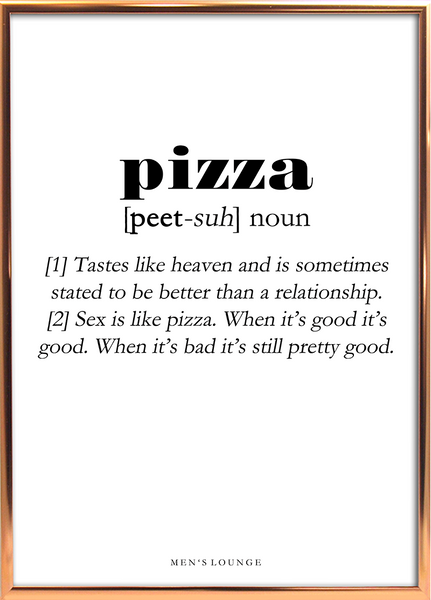 Pizza Definition