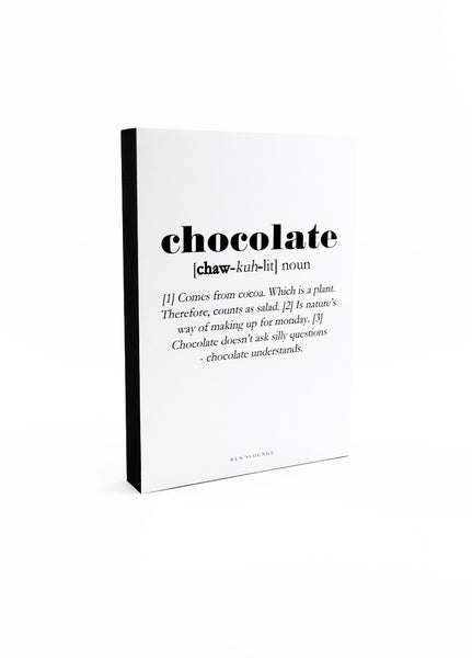 Chocolate Definition