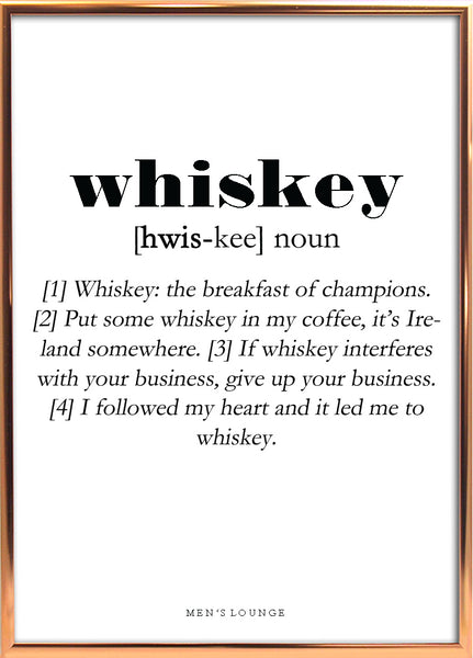 Whiskey Definition