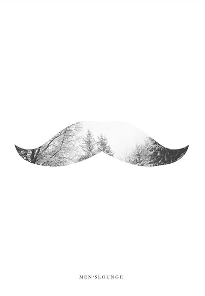 Nature Moustache - Men's Lounge