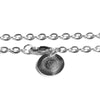 FLAT-O CHAIN NECKLACE [ SILVER ]