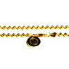 BALL CHAIN NECKLACE [ YELLOW GOLD ]
