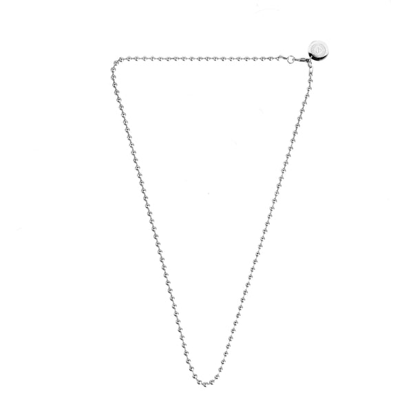 BALL CHAIN NECKLACE [ SILVER ]