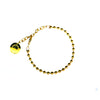 BALL CHAIN BRACELET [ YELLOW GOLD ]
