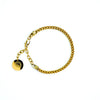 Franco Chain Bracelet [ YELLOW GOLD ]