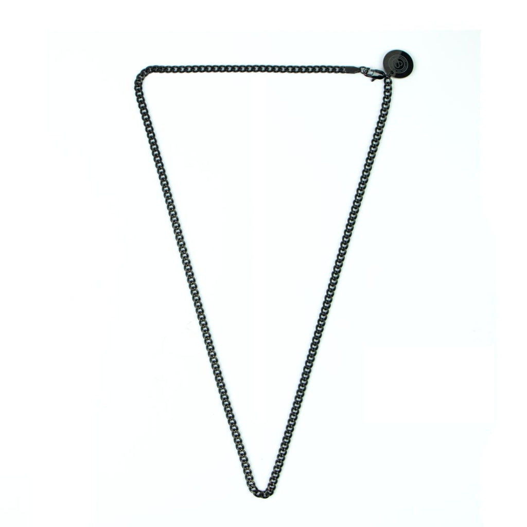 Cuban Chain Necklace [ JADE BLACK ]