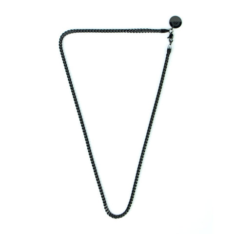 Franco Chain Necklace [ JADE BLACK ]
