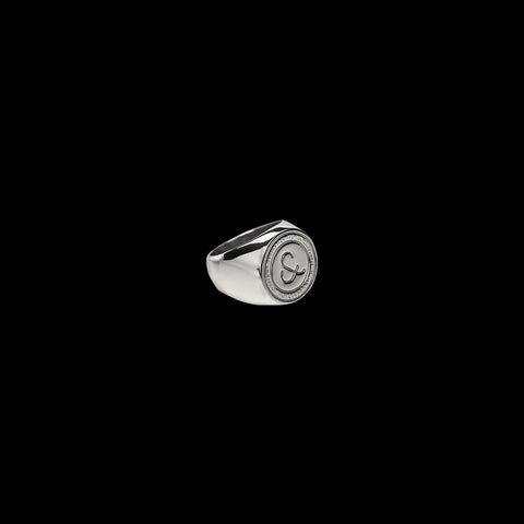 Lost Royalty Signet Ring [ 925 SILVER ]