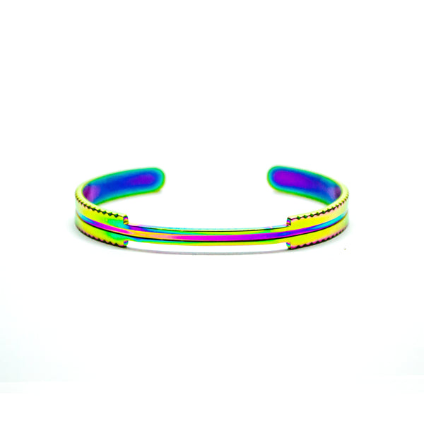 TRUE CROWN CUFF [ RAINBOW ]
