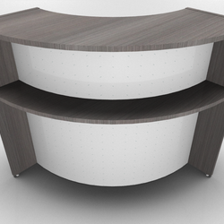 90° Corner Unit for Bienvenue Reception Counter