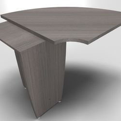 90° Corner for Succes Meeting Tables
